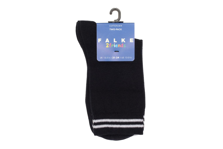 Socken & Strumpfhosen Falke Socken FRIENDS 2er-Pack blau ansicht von hinten
