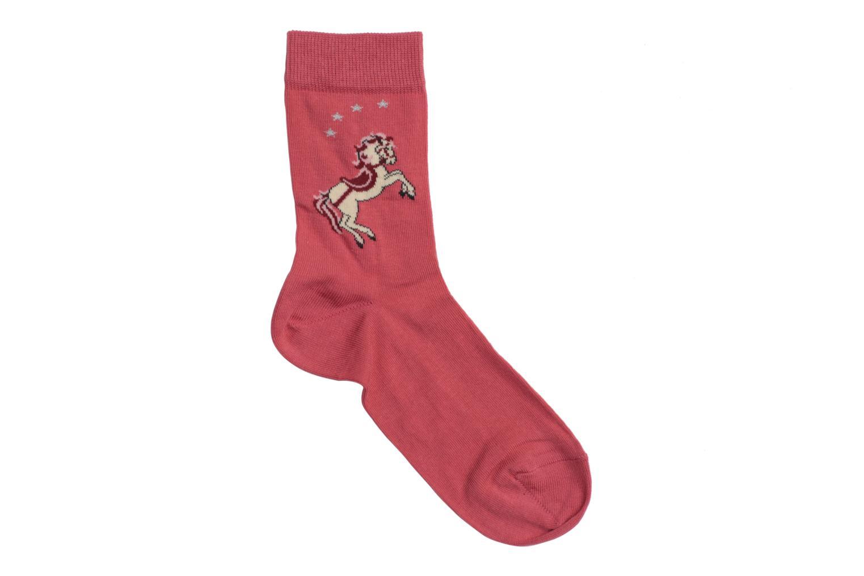 Chaussettes et collants Falke Chaussettes PONEY Rose vue détail/paire