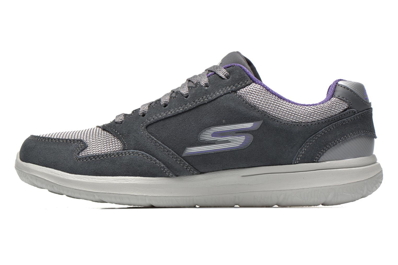 Sneakers Skechers GO Walk City Champion 13827 Grijs voorkant