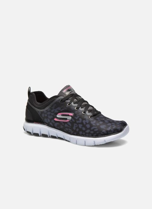Sport shoes Skechers Skech-Flex Power Player 12131 Black detailed view/ Pair view
