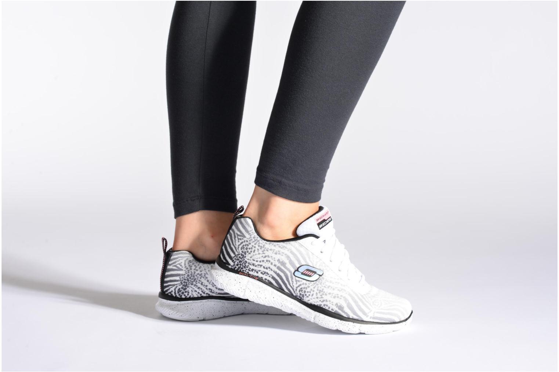 Chaussures de sport Skechers Skech-Flex Power Player 12131 Noir vue bas / vue portée sac