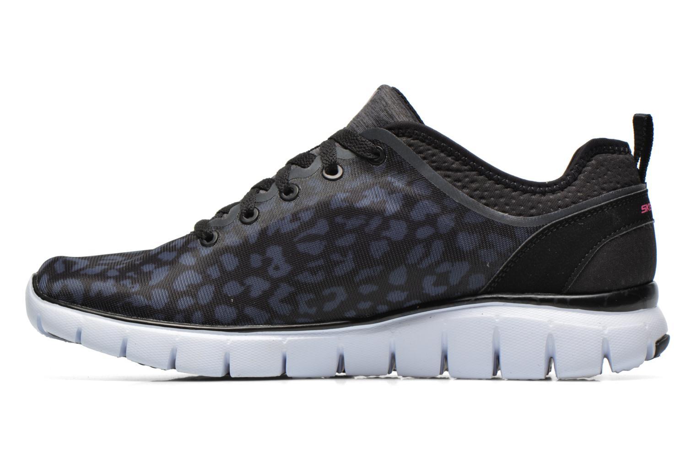 Chaussures de sport Skechers Skech-Flex Power Player 12131 Noir vue face