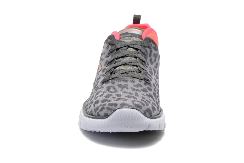 Chaussures de sport Skechers Skech-Flex Power Player 12131 Gris vue portées chaussures