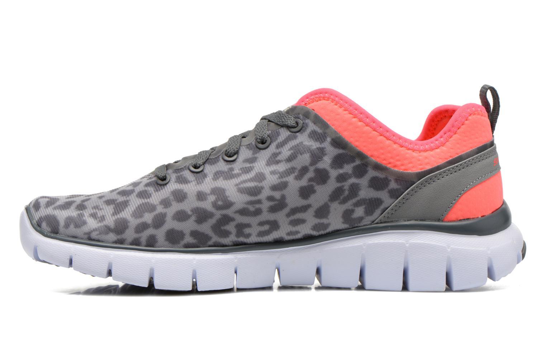 Chaussures de sport Skechers Skech-Flex Power Player 12131 Gris vue face