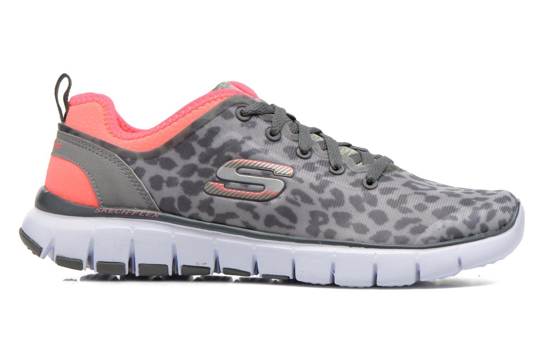 Chaussures de sport Skechers Skech-Flex Power Player 12131 Gris vue derrière