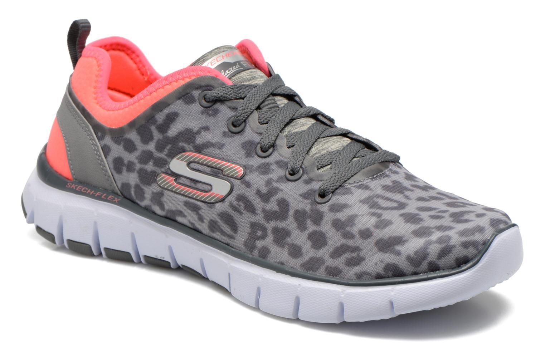 Chaussures de sport Skechers Skech-Flex Power Player 12131 Gris vue détail/paire
