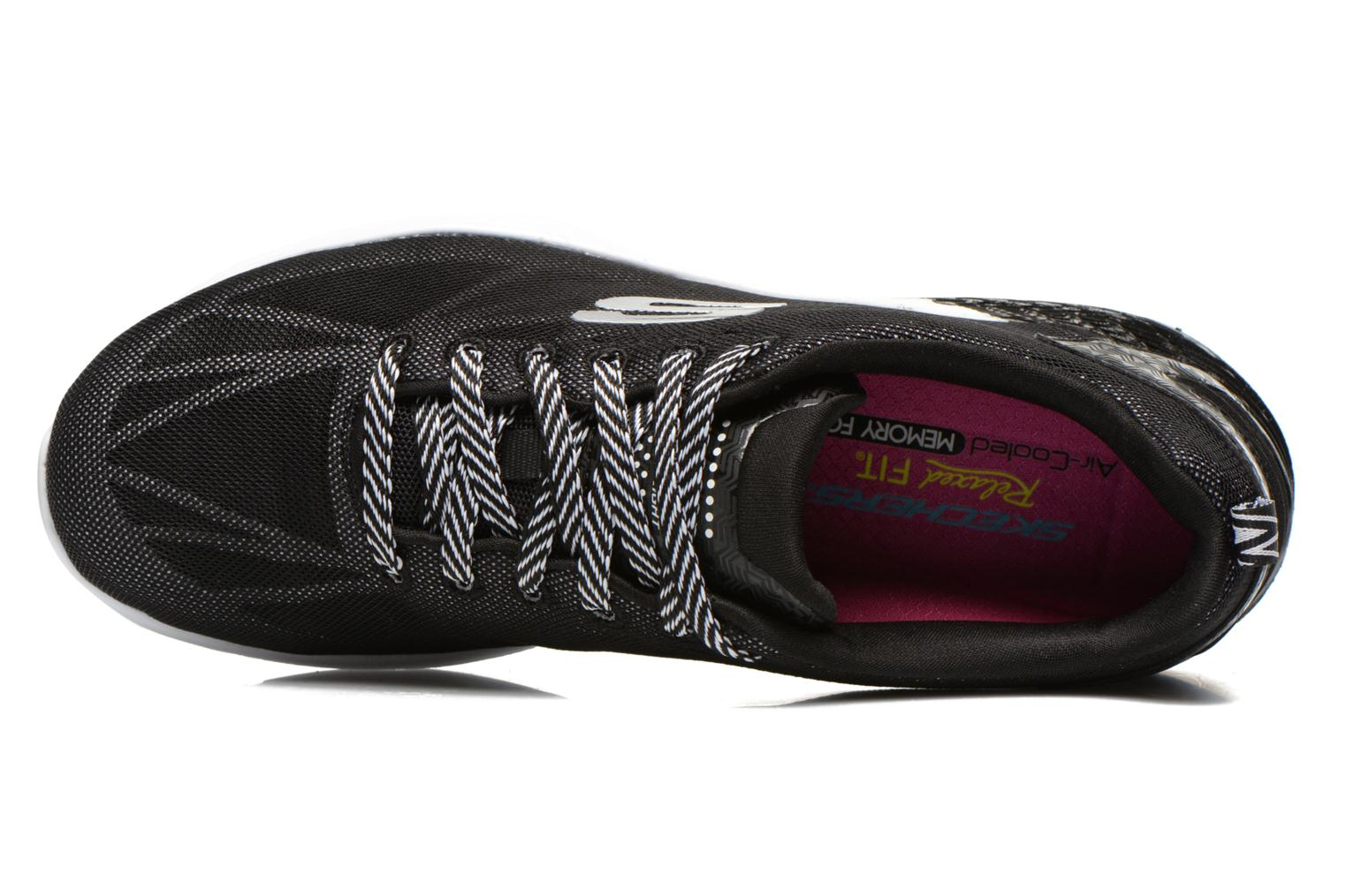 Sport shoes Skechers Valeris Front Page 122113 Black view from the left