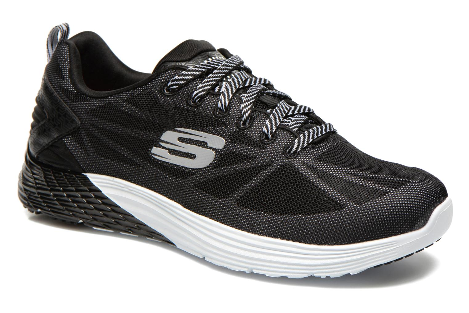 Sport shoes Skechers Valeris Front Page 122113 Black detailed view/ Pair view