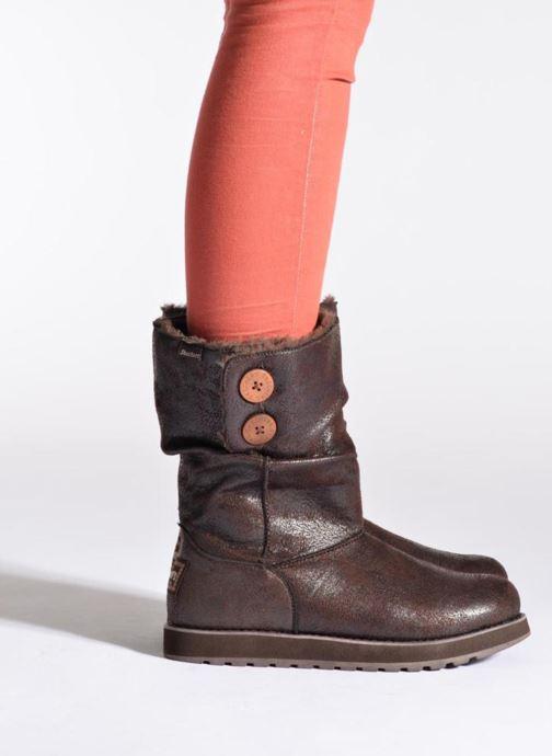 Botines  Skechers Keepsakes Leather-Esque 48367 Marrón vista de abajo