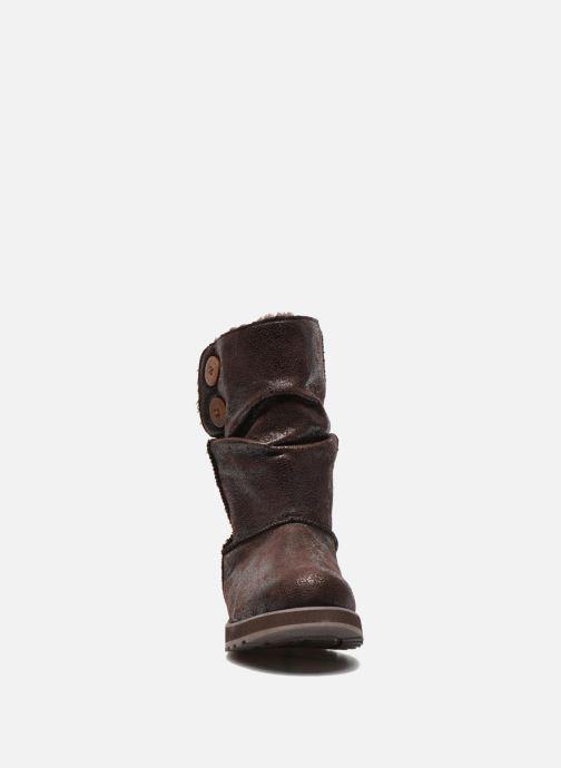 Botines  Skechers Keepsakes Leather-Esque 48367 Marrón vista del modelo
