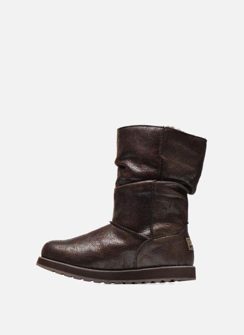 Botines  Skechers Keepsakes Leather-Esque 48367 Marrón vista de frente