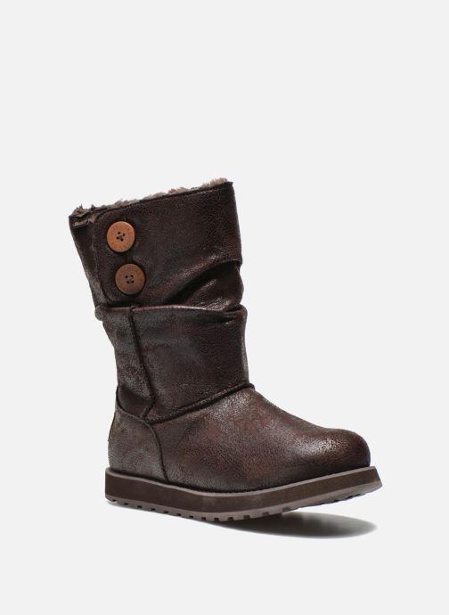 Botines  Skechers Keepsakes Leather-Esque 48367 Marrón vista de detalle / par