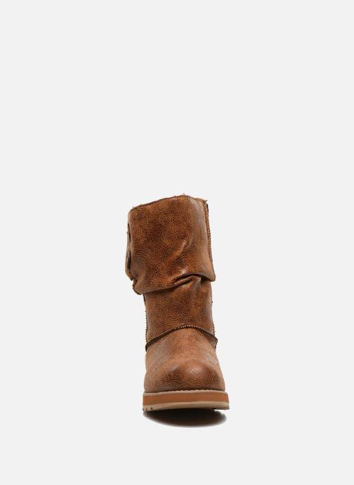 Bottines et boots Skechers Keepsakes Leather-Esque 48367 Marron vue portées chaussures