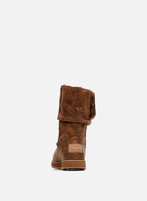 Bottines et boots Skechers Keepsakes Leather-Esque 48367 Marron vue droite