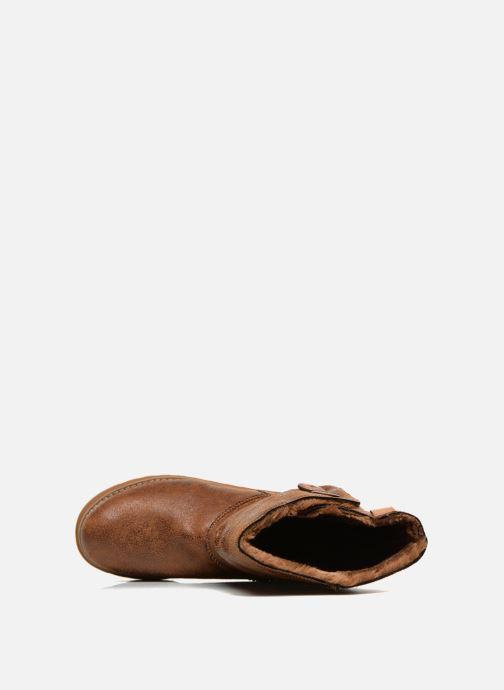 Boots en enkellaarsjes Skechers Keepsakes Leather-Esque 48367 Bruin links