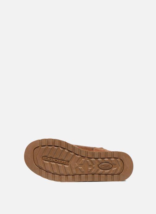 Bottines et boots Skechers Keepsakes Leather-Esque 48367 Marron vue haut