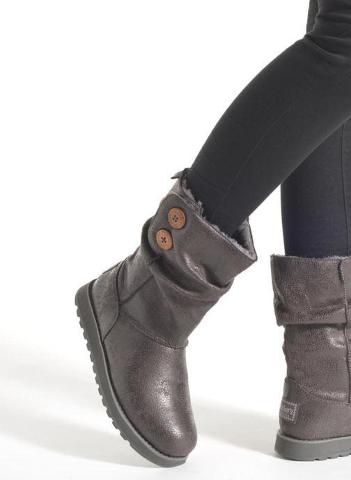 Botines  Skechers Keepsakes Leather-Esque 48367 Gris vista de abajo