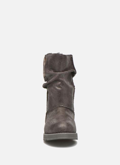Botines  Skechers Keepsakes Leather-Esque 48367 Gris vista del modelo