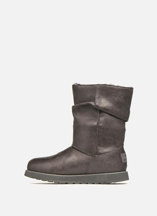 Boots en enkellaarsjes Skechers Keepsakes Leather-Esque 48367 Grijs voorkant