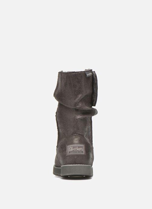 Boots en enkellaarsjes Skechers Keepsakes Leather-Esque 48367 Grijs rechts