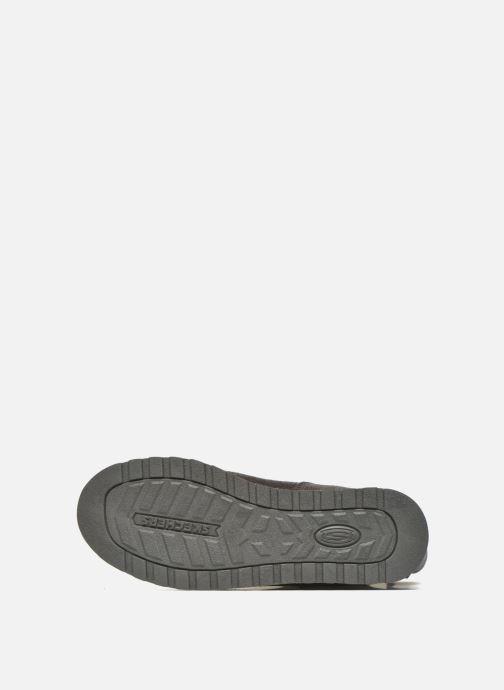 Botines  Skechers Keepsakes Leather-Esque 48367 Gris vista de arriba