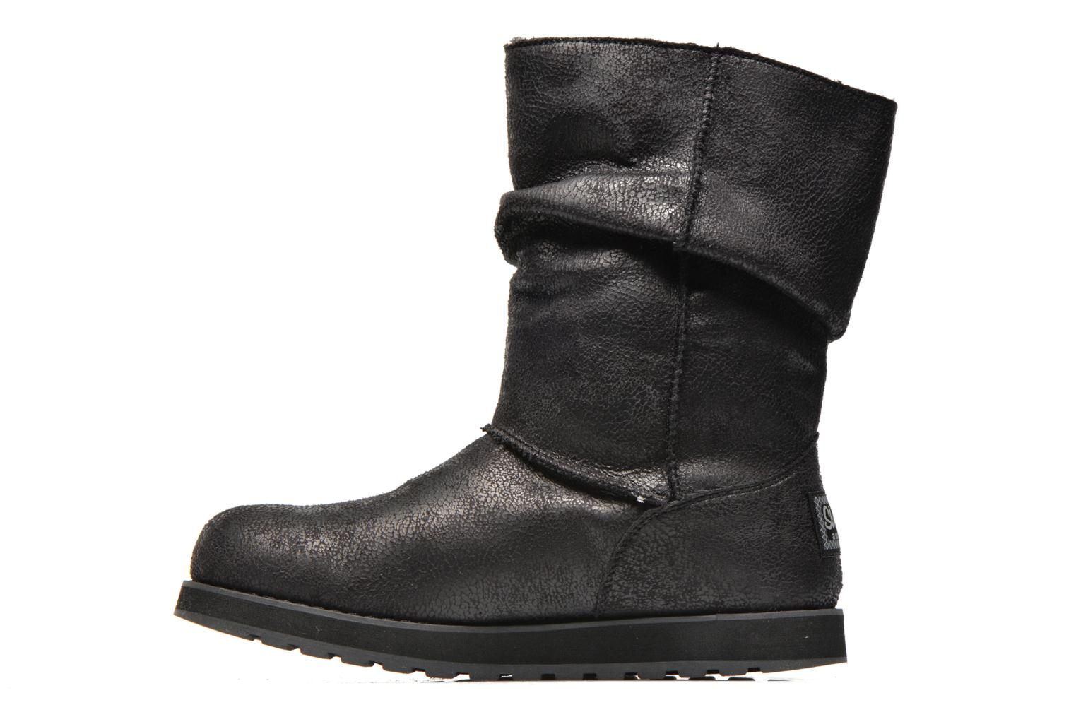 Boots en enkellaarsjes Skechers Keepsakes Leather-Esque 48367 Zwart voorkant