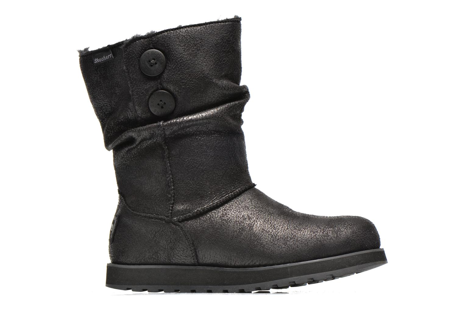 Boots en enkellaarsjes Skechers Keepsakes Leather-Esque 48367 Zwart achterkant