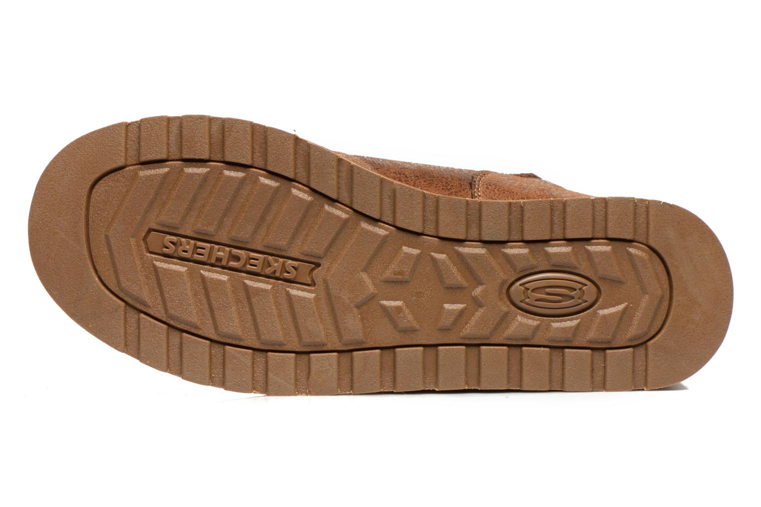Boots en enkellaarsjes Skechers Keepsakes Leather-Esque 48367 Bruin boven