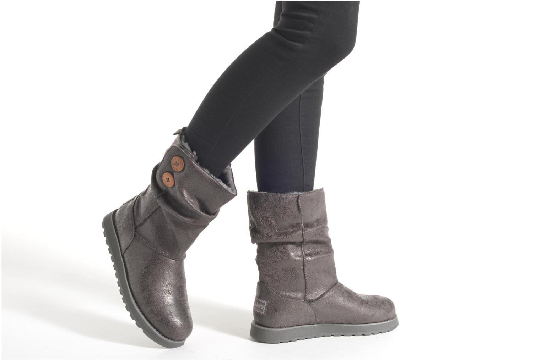 Boots en enkellaarsjes Skechers Keepsakes Leather-Esque 48367 Grijs onder
