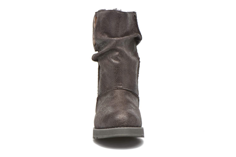 Boots en enkellaarsjes Skechers Keepsakes Leather-Esque 48367 Grijs model