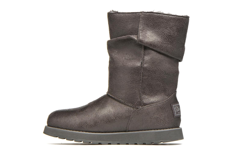 Boots en enkellaarsjes Skechers Keepsakes Leather-Esque 48367 Grijs voorkant