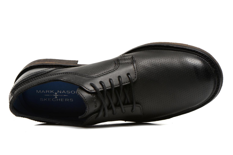 Chaussures à lacets Skechers Bridport 68160 Noir vue gauche