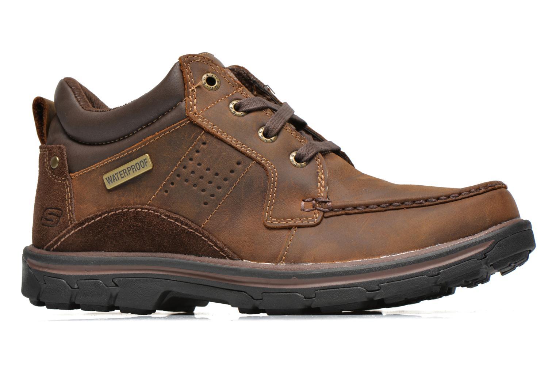 Zapatos con cordones Skechers Segment Melego 64522 Marrón vistra trasera