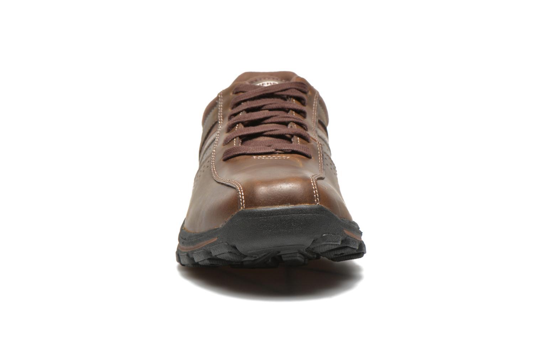 Sneakers Skechers Braver Alfano 64529 Brun se skoene på