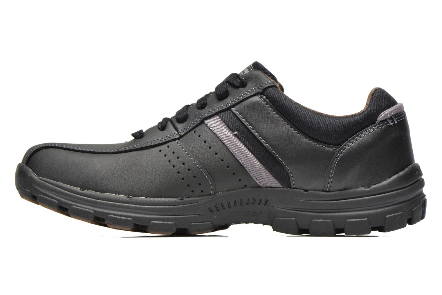 Trainers Skechers Braver Alfano 64529 Black front view