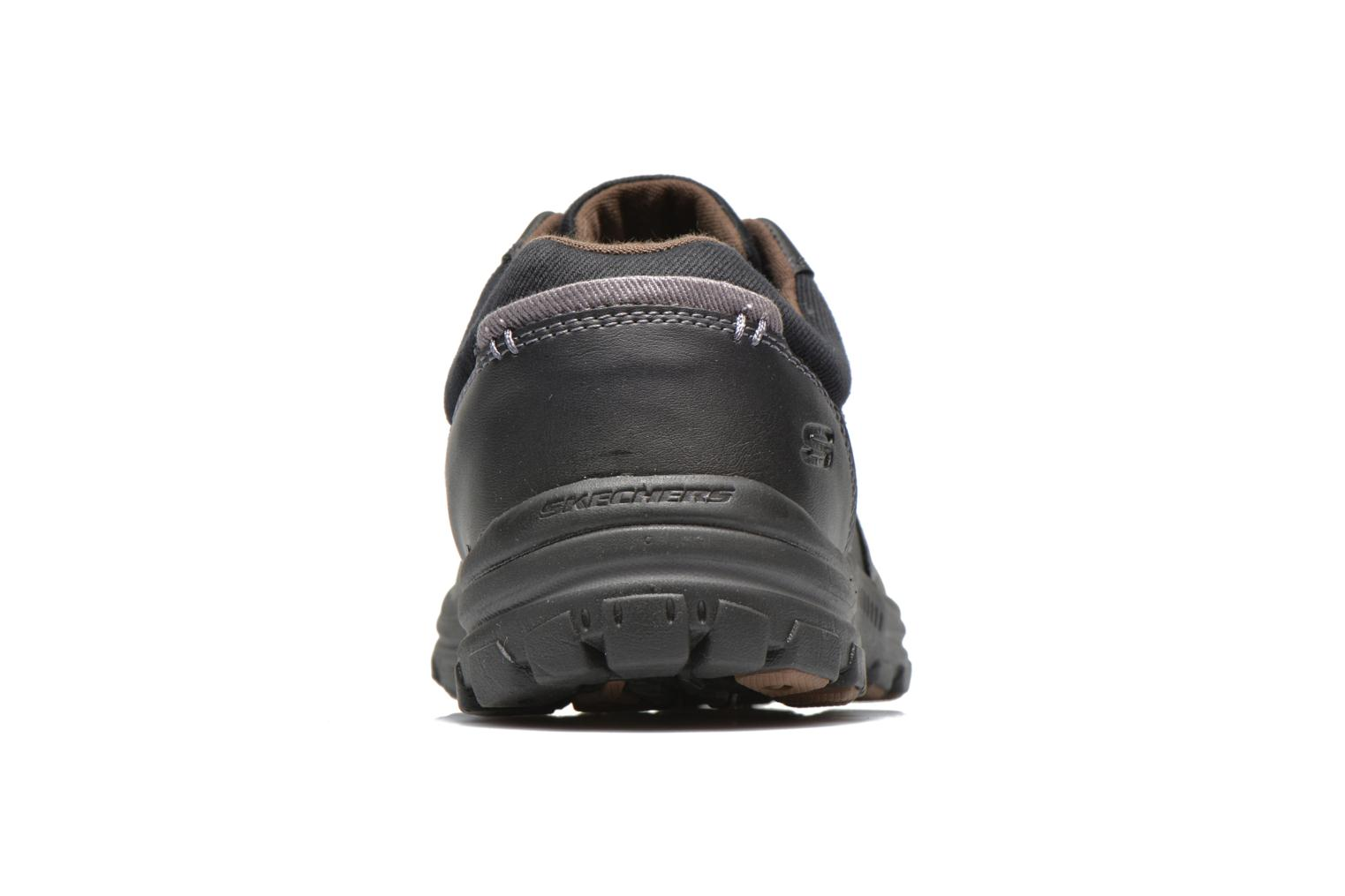 Trainers Skechers Braver Alfano 64529 Black view from the right