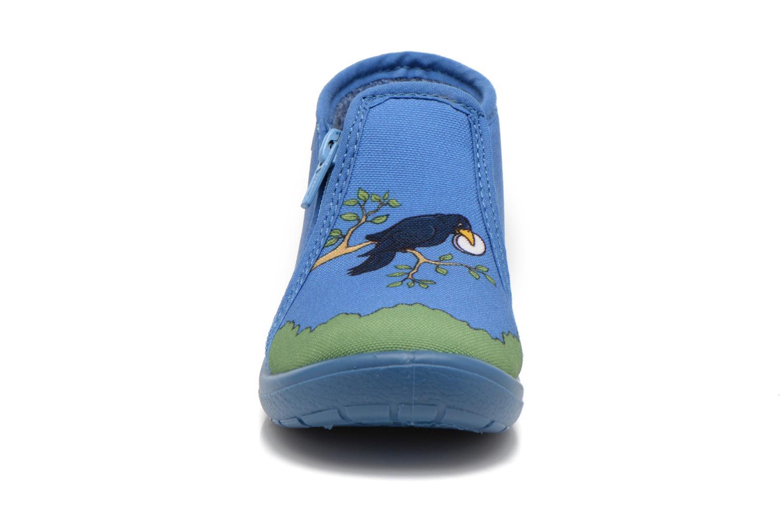 Chaussons Little Mary Zecorbeau Bleu vue portées chaussures