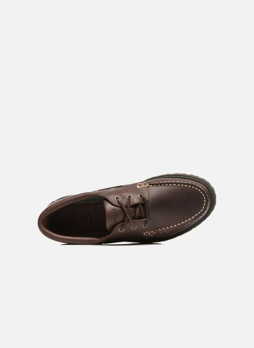 Zapatos con cordones Aigle Tarmac Marrón vista lateral izquierda