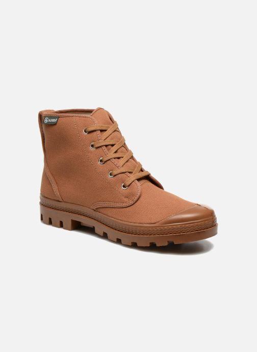 Boots en enkellaarsjes Aigle Arizona Bruin detail