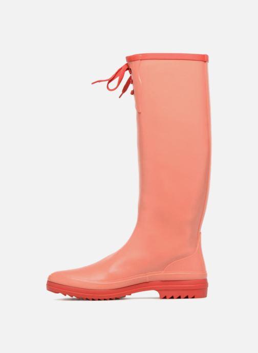 Støvler & gummistøvler Aigle Miss Marion Orange se forfra