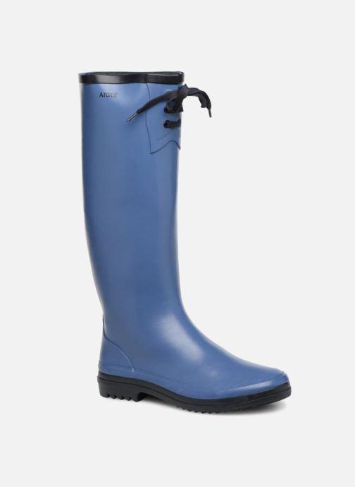 20bf4042a780 Støvler   gummistøvler Aigle Miss Marion Blå detaljeret billede af skoene