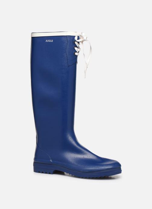 Støvler & gummistøvler Aigle Miss Marion Blå detaljeret billede af skoene