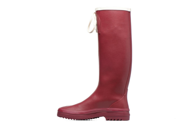 Støvler & gummistøvler Aigle Miss Marion Rød se forfra