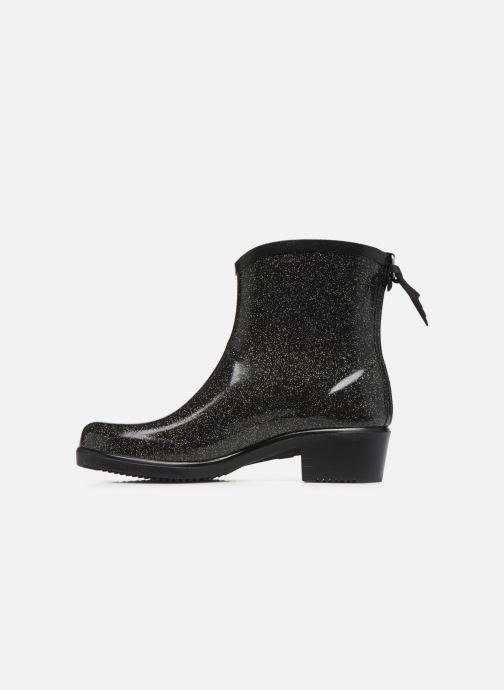 Bottines et boots Aigle Miss Juliette Bottillon Print Noir vue face
