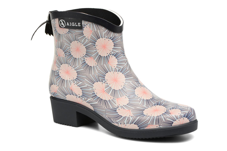 Bottines et boots Aigle Miss Juliette Bottillon Print Multicolore vue détail/paire