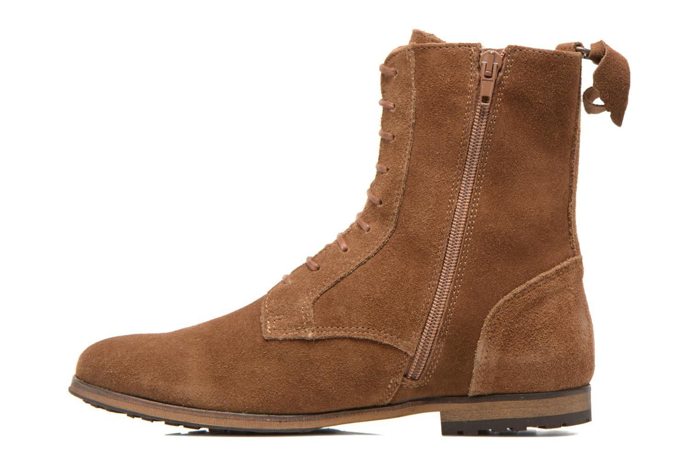 Bottines et boots Aigle Melven Marron vue face