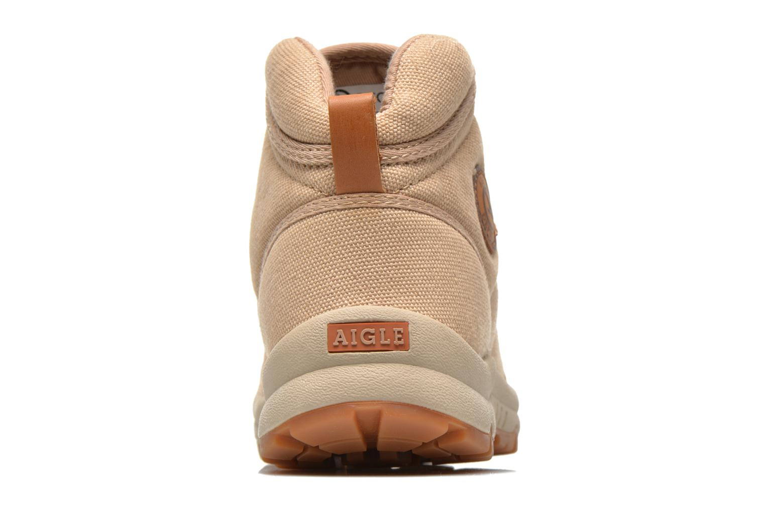 Trainers Aigle Tenere Light WP W Beige view from the right
