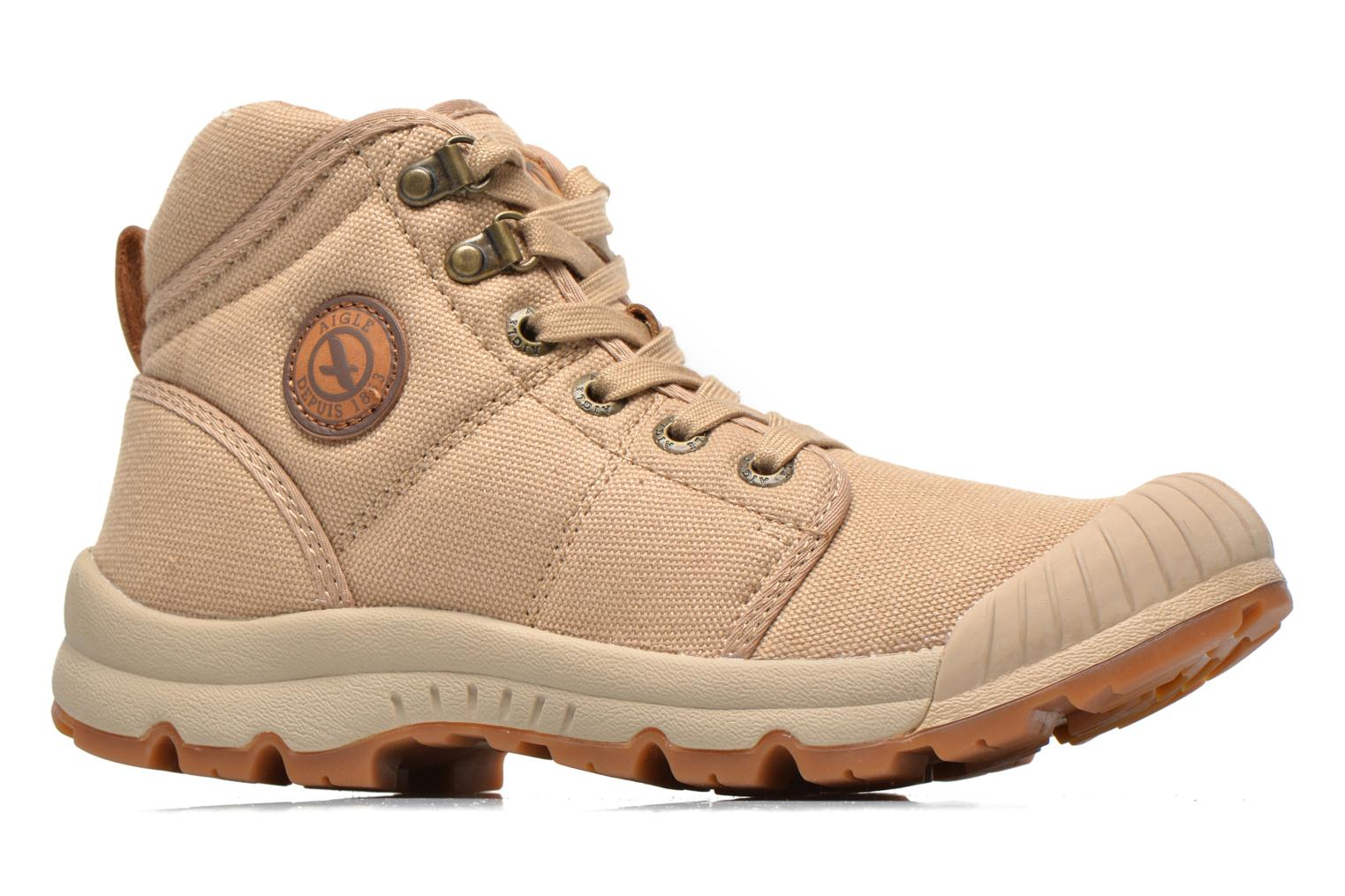 Trainers Aigle Tenere Light WP W Beige back view