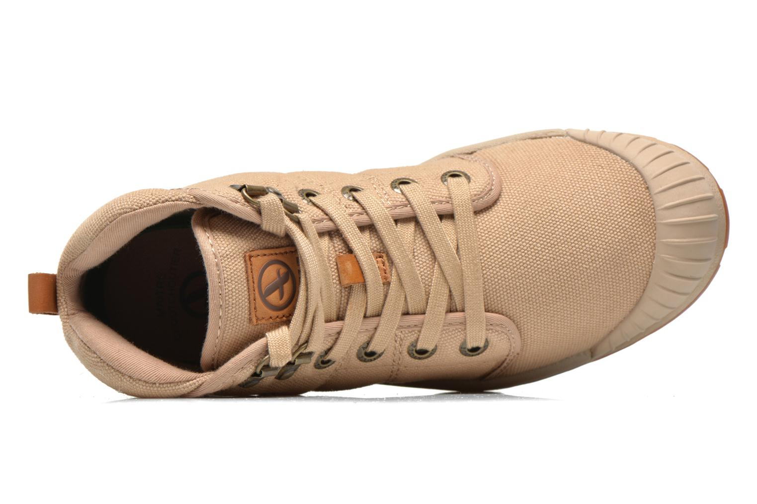 Trainers Aigle Tenere Light WP W Beige view from the left