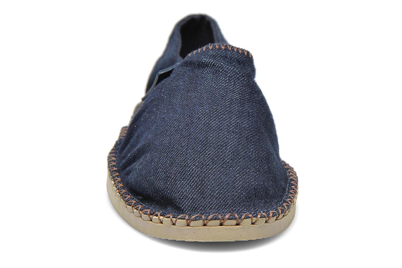 Espadrilles Havaianas Origine Relax W Bleu vue portées chaussures